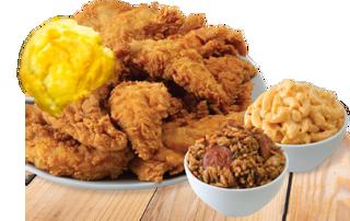 Picture of Three Piece Chicken Dinner